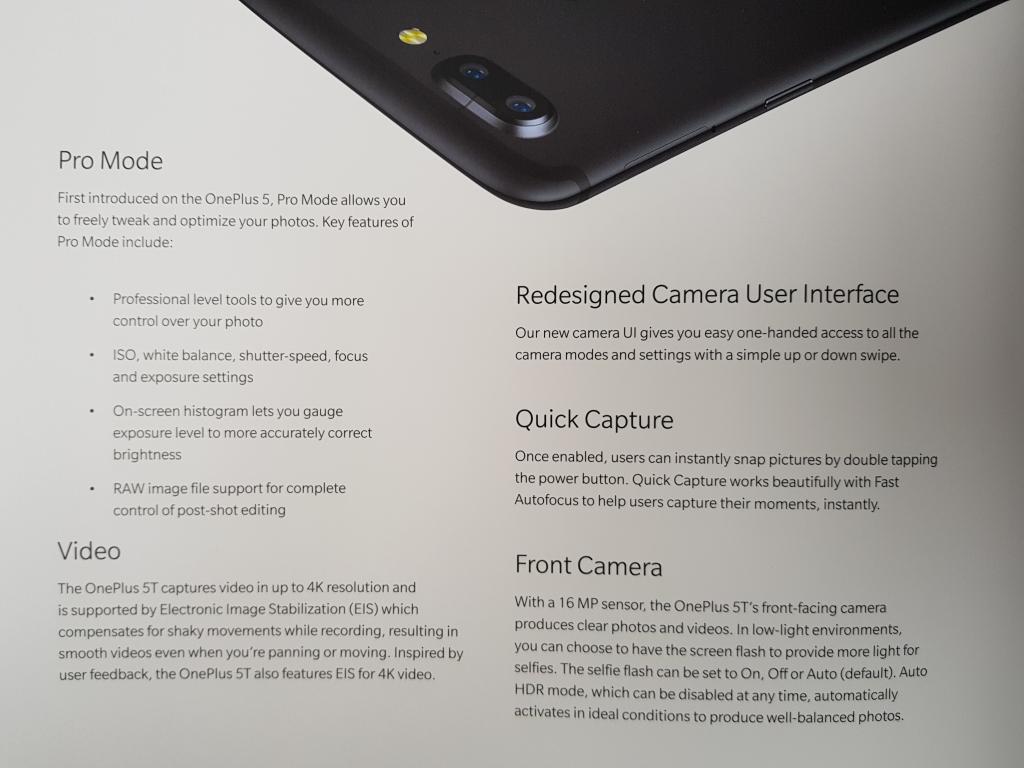 Einen Pro-Modus bietet das OnePlus 5T ebenfalls.