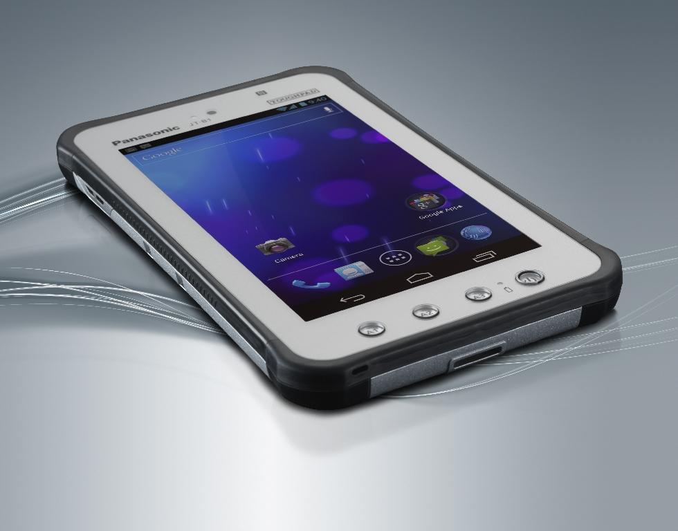 Neben dem Windows-Tablet hat Panasonic auch ein weiteres Android-Modell angekündigt. Die 7-Zoll-Variante JT-B1 ergänzt das bereits im letzten Jahr vorgestellte 10.1-Zoll-Android-Gerät FZ-A1.