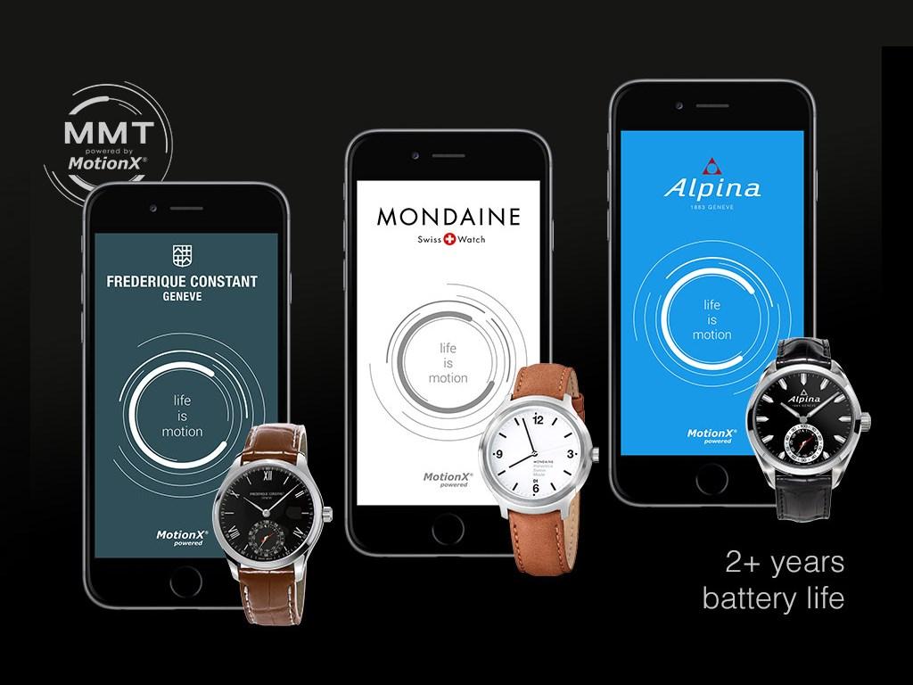 """Das schweizer Unternehmen <a href=\""""http://mmt.ch/\"""" target=\""""_blank\"""">Manufacture Modules Technologies</a> (MMT) hat drei klassische Uhren angekündigt, die Funktionen einer Smartwatch integrieren. Entstanden ist die Firma aus einem Joint Venture zwischen dem schweizer Uhrenhersteller Frédérique Constant SA, dem auch die Marke Alpina gehört und der Silicon-Valley-Firma <a href=\""""http://www.fullpower.com/\"""" target=\""""_blank\"""">Fullpower</a>. MMT wurde gegründet um die von Fullpower entwickelte Sensortechnik <a href=\""""http://www.motionx.com/\"""" target=\""""_blank\"""">MotionX</a>, die unter anderem in <a href=\""""http://www.zdnet.de/88214399/die-vermessung-des-selbst-12-fitness-armbaender-im-ueberblick/\"""" target=\""""_blank\"""">Fitnessbändern von Nike und Fitbit</a> zum Einsatz kommen, für die Uhrenbranche anzupassen. Die Plattform wird unter dem Namen 365 Horological Smartwatch Open Platform vermarktet. Die ersten Horological Smartwatches sollen im Sommer von Alpina und Frédérique Constant erhältlich sein. Außerdem plant der schweizer Uhrenhersteller Mondaine, der die MMT-Technik lizensiert hat, im Herbst ebenfalls eine solche Uhr anzubieten. Bis zum Jahresende wollen die Hersteller mehr als 10 Horological Smartwatches sowohl  für Damen wie für Herren vorstellen. <br>Die für Mai erwarteten Modelle von Alpina und Frédérique Constant sollen ab 995 und 950 Euro erhältlich sein. Für die Mondaine Helvetica No.1 Horological Smartwatch verlangt der Hersteller 850 Schweizer Franken. (Bild: Fullpower)"""