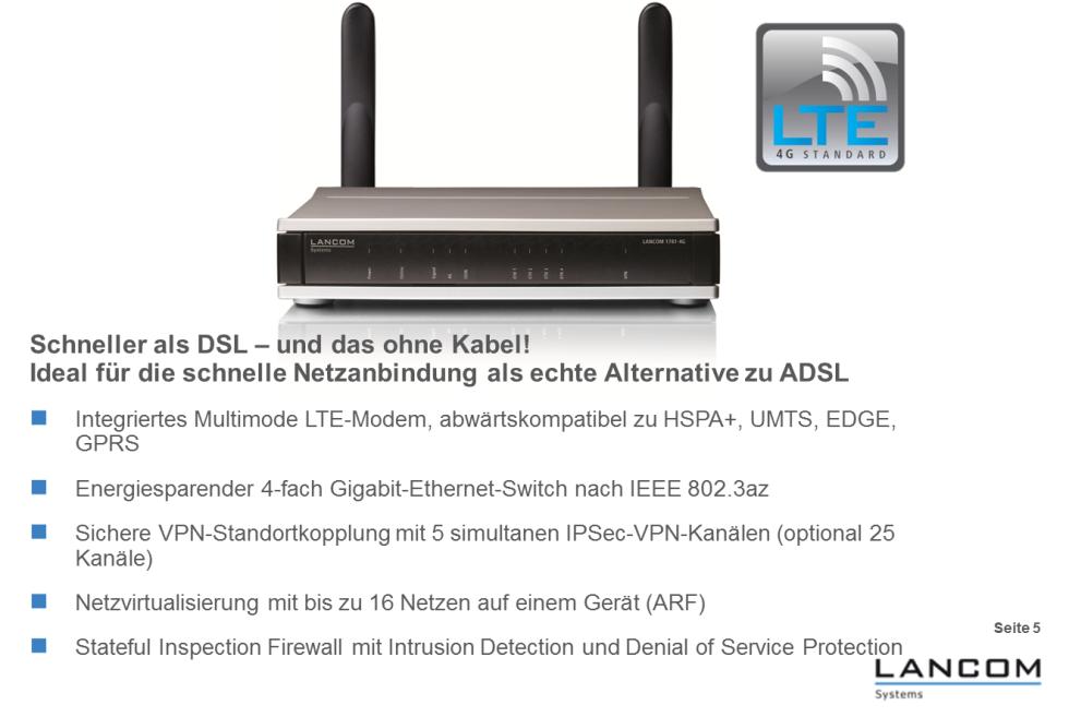 """Als Herz der ausgesprochen funktionsreichen 2G-3G-4G-Mobilfunk-Hardware sitzt ein """"Sierra Wireless AirPrime MC7710 LTE and HSPA+ wireless module"""", powered by Qualcomm, auf der Hauptplatine des """"LANCOM 1781-4G"""" Routers. So ein Multiband- und Multimode-LTE-Modul steckt übrigens auch im pfeilschnellen Sony Vaio S13A, dem bislang schnellsten von uns getesteten LTE-Laptop (Grafik: LANCOM Systems). <br> <a href=\""""http://www.zdnet.de/88132147/lte-warum-kommen-keine-100-mbits-einflussfaktoren-der-4g-surfgeschwindigkeit/\"""" title=\""""Zum Artikel: LTE: Warum kommen keine 100 Megabit/s?\"""">Zum Artikel: LTE: Warum kommen keine 100 Megabit/s?</a>"""