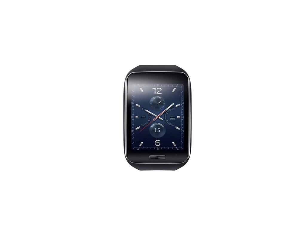 """Samsung hat mit der <a href=\""""http://www.zdnet.de/88203877/gear-s-samsung-bringt-gebogene-smartwatch-mit-mobilfunkchip-heraus/\"""" target=\""""_blank\"""" title=\""""Gear S\"""">Gear S</a> eine weitere Smartwatch mit dem Betriebssystem Tizen vorgestellt. Anders als bestehende Modelle ist sie mit einem Mobilfunkmodul ausgestattet, erfordert also keine Smartphone-Anbindung, um Daten abzurufen. Auch optisch schlägt Samsung ein neues Kapitel auf, indem es wie im Fitness-Armband Gear Fit einen gebogenen Bildschirm nutzt. Die Smartwatch wird im Oktober in Schwarz und Weiß in den Handel kommen. Zum Preis hat sich Samsung noch nicht geäußert.  Das Armband lässt sich wechseln. Durch die gebogene Form verspricht Samsung gegenüber den Modellen Gear 2, Galaxy Gear oder auch Gear Live erhöhten Tragekomfort. Der Bildschirm besteht aus einem 2 Zoll großen Super-AMOLED-Display und liefert 480 mal 360 Pixel Auflösung. Das entspricht einer Dichte von 300 ppi. Das Gehäuse ist nach IP67 gegen Staub und Wasser geschützt.  Aufgrund des integrierten Mobilfunkmoduls kann die neue Samsung-Smartwatch eine direkte Verbindung zum Mobilfunknetz aufbauen. Sie muss nicht mit einem Galaxy-Smartphone gekoppelt werden, um Anrufe entgegenzunehmen oder zu tätigen sowie Benachrichtigungen von Sozialen Netzwerken wie Facebook oder Apps wie dem Kalender zu empfangen."""