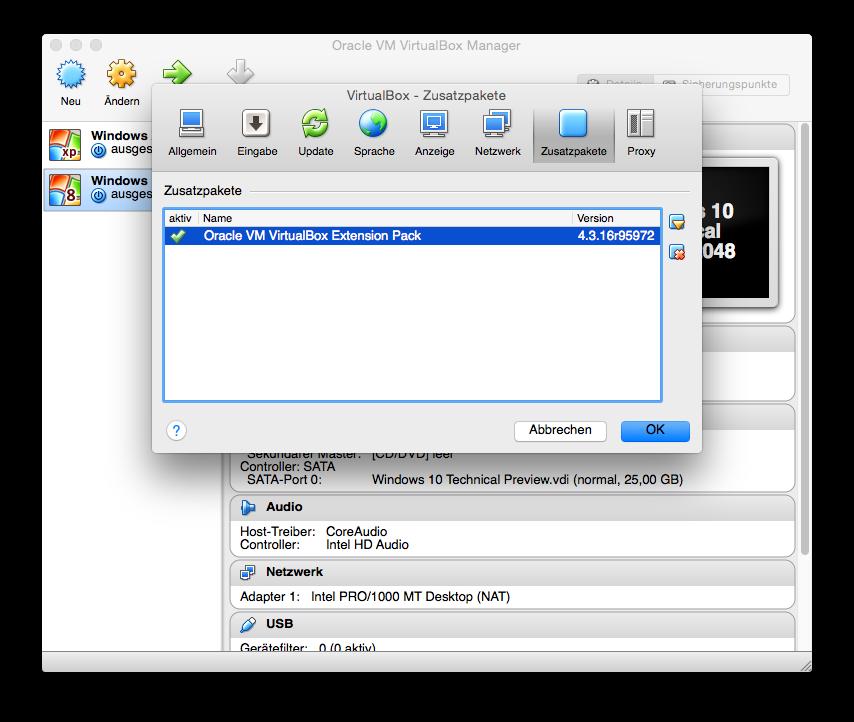 """Nach dem Klick auf \""""Erzeugen\"""" ist die virtuelle Maschine für die Installation von Windows 10 vorbereitet."""