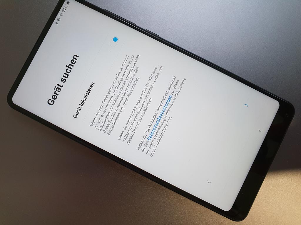 Auch ein Lokalisierungsdienst, mit dem man das Smartphone aus der Ferne sperren kann, gehört zum Leistungsumfang der Mi Cloud.